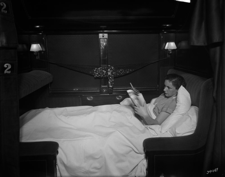 Canadian National sleeping car - 1937